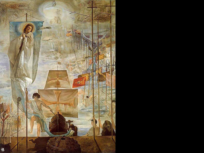 Salvador Dali: The Discovery of America By Christopher Columbus